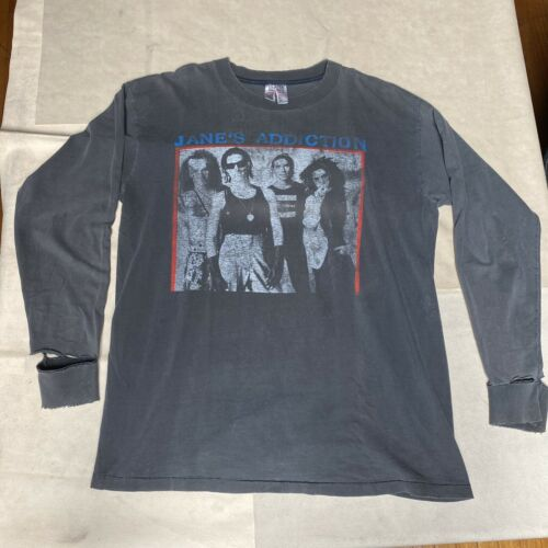 Vintage Janes Addiction Long Sleeve Tshirt 90's Me