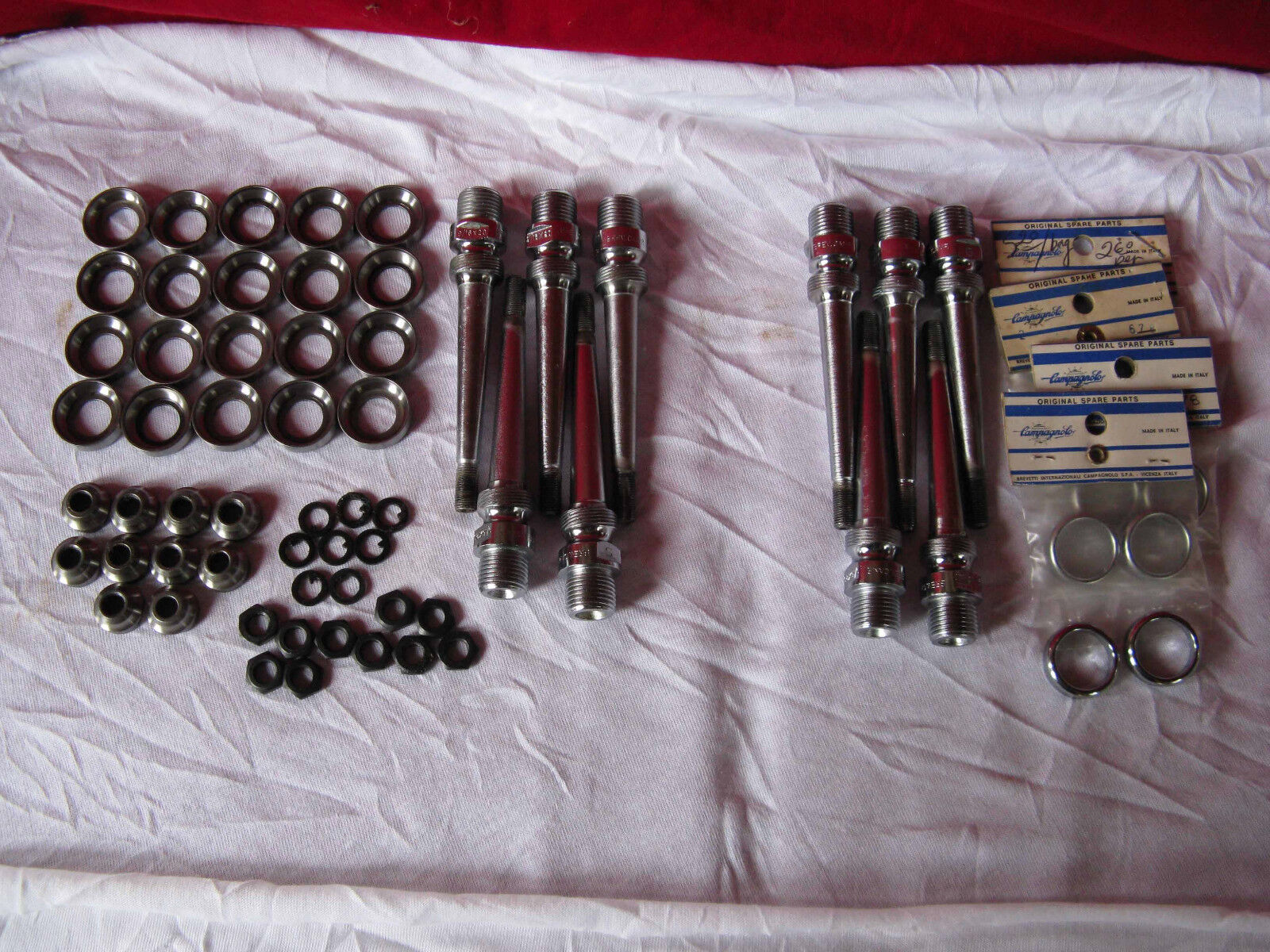 Campagnolo Pedal spare parts assortment NOS