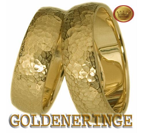 EHERINGE TRAURINGE NEU!!! GOLD 333!1 PAAR!BRILLANT!!!