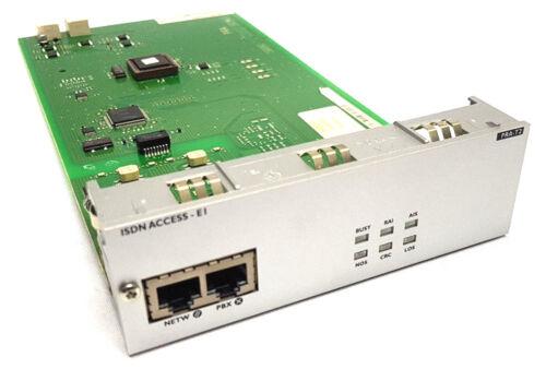 Alcatel OmniPCX  PRA-T2 ISDN Access EI Baugruppe TOP!!