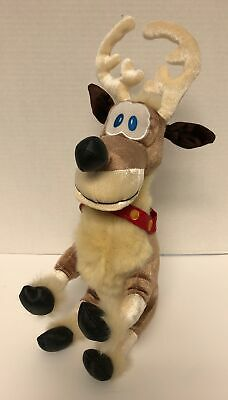 Mickey S Twice Upon A Christmas Donner Reindeer 12 Plush Disney Store Stuffed 412171931777 Ebay