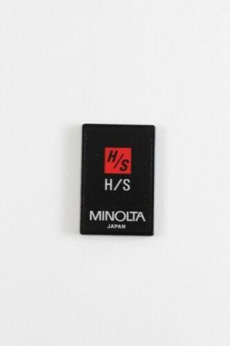 Minolta highlight and Shadow control card H//S 7xi 7000i