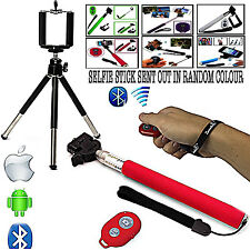 SELF/SCENIC/HOLIDAY PHOTOGRAPHY SELFIE STICK+TRIPOD FOR APPLE IPHONE 7 PLUS