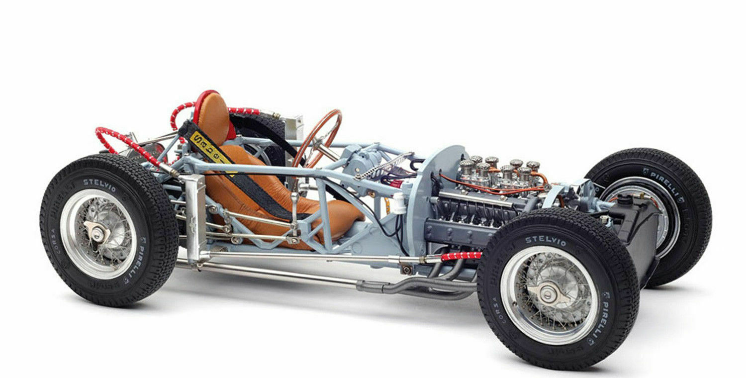 LANCIA D50 1955  ROLLING CHASSIS LIMITED EDITION A 1000 PIEZAS M-198 CMC 1 18