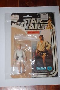 Luke Skywalker - star lâche Wars - un nouvel espoir - vintage - avec 12 cartes dos