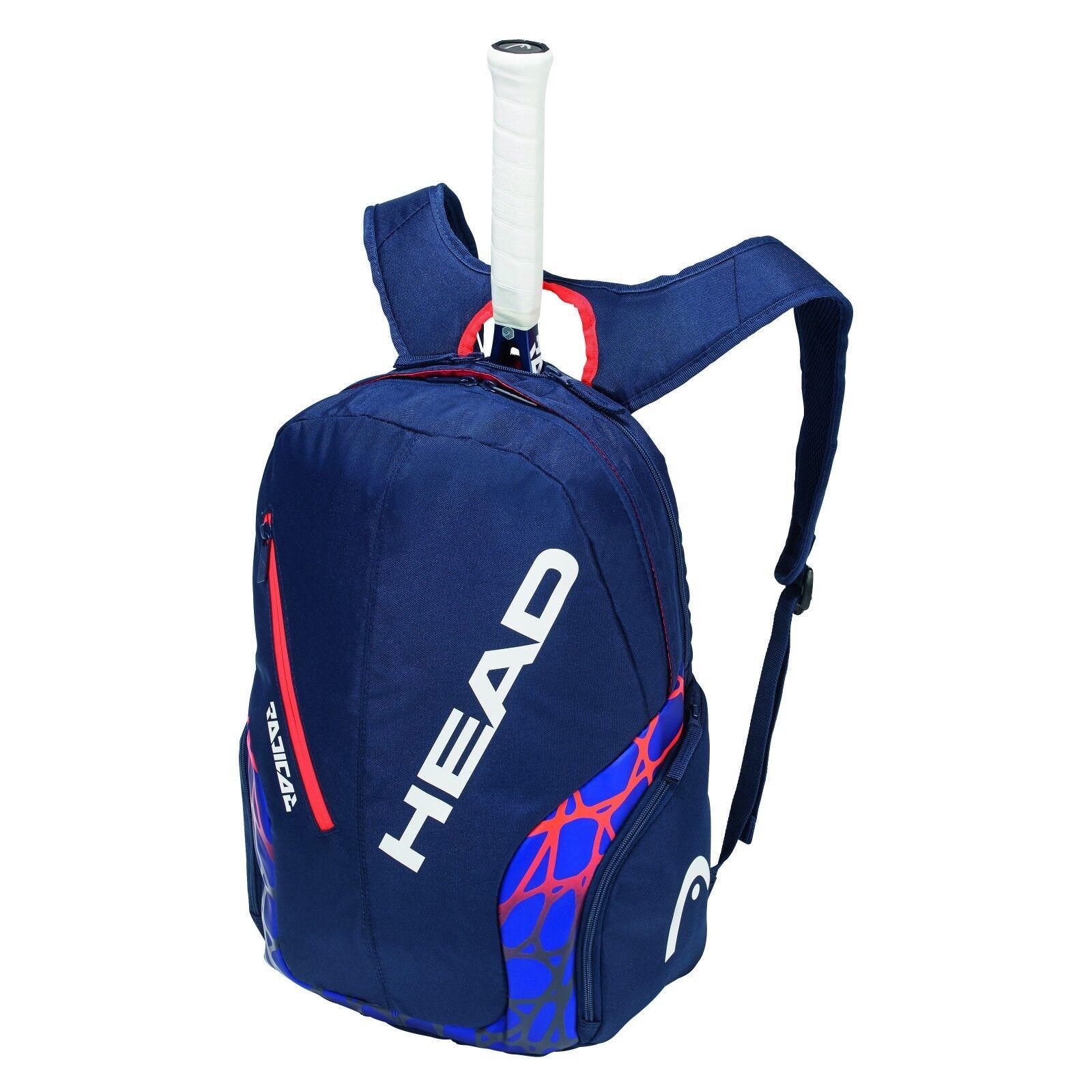 Nuovo Head Head Head Radical Rebel Backpack molto accessoriato d3c01f