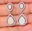 Vintage-925-Silver-Turquoise-Dangle-Ear-Hook-Drop-Gift-Women-Jewelry-Earrings thumbnail 24