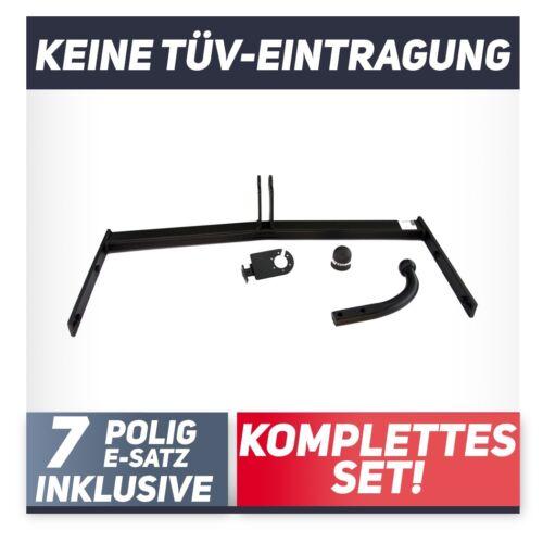 Für Seat Leon II 1P 5-Tür 05-12 Anhängerkupplung starr+E-Satz 7p