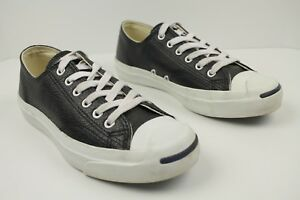 CONVERSE Jack Purcell Leather Low Top Black  