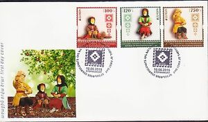 Asia Stamps Dutiful Nagorno Mountainous Karabakh Armenia 2015 Fdc Europa Old Toys R17284 Bright And Translucent In Appearance