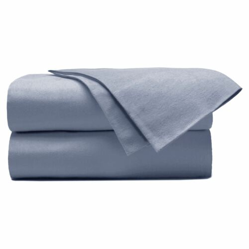 Teint en flanelle 100/% coton brossé flat draps alèses literie