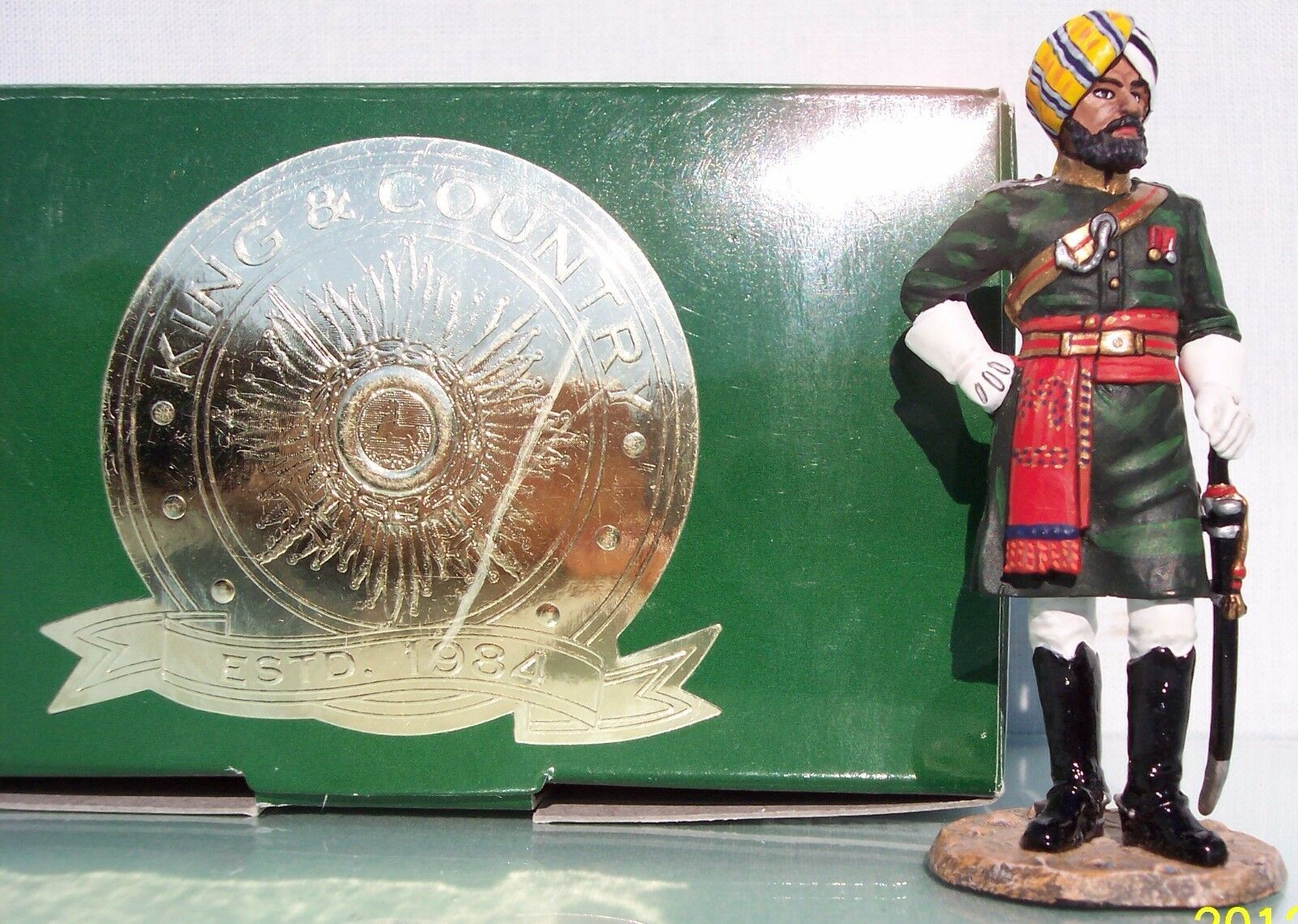 KING & COUNTRY COLLECTORS CLUB CF012 BRITISH COLONIAL 1ST BOMBAY LANCERS MIB