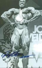 Lee Haney signed Bodybuilding Mr. Olympia Legend Rare PROOF COA LOOK!