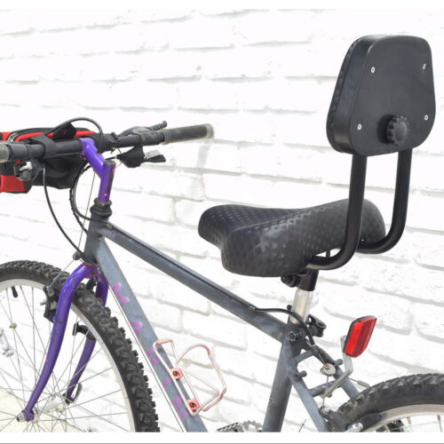 Bicycle Tricycle Cruiser Saddle Seat PU Cushion Pad With Backrest Black