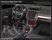 Wood Grain Dash Kit Fits Toyota Camry 2015-2017