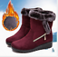 Women-039-s-Winter-Warm-Suede-Ankle-Snow-Boots-Fur-Thicken-Flats-Casual-Cotton-Shoes thumbnail 1