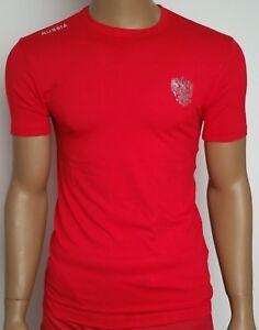 034-RUSSIA-034-T-Shirt-in-3D-Optik-mit-Wappen-rot-Russia-2018-WM-World-Cap
