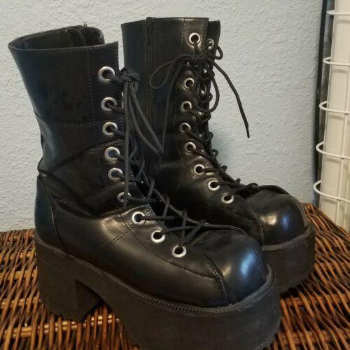 Demonia RANGER-208 301 Women's Goth Punk Platform