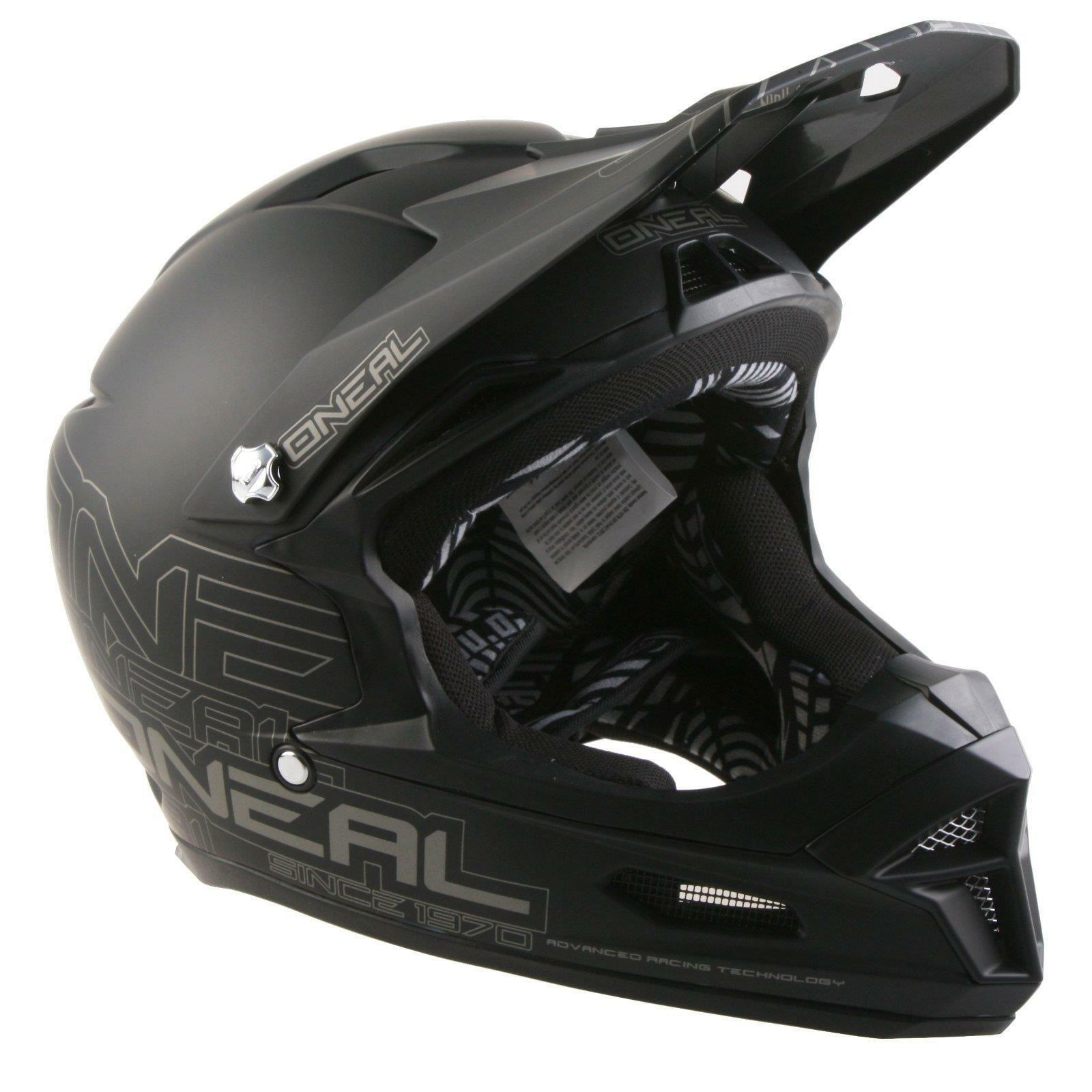 ONeal furia RL casco mate negro Fullface MTB downhill Enduro BTT DH FR