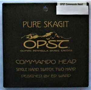 New OPST Commando Pure Skagit Heads 425gr