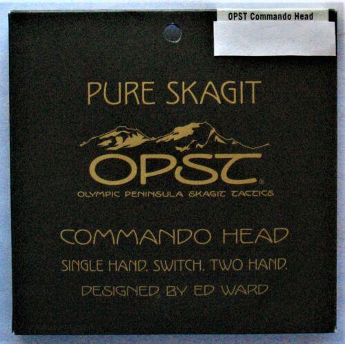 """Opst Pure Skagit Commando Head /""""Sélectionnez poids/"""" /</> Gratuit Vitesse de distorsion de livraison />/>/>/>/>"""