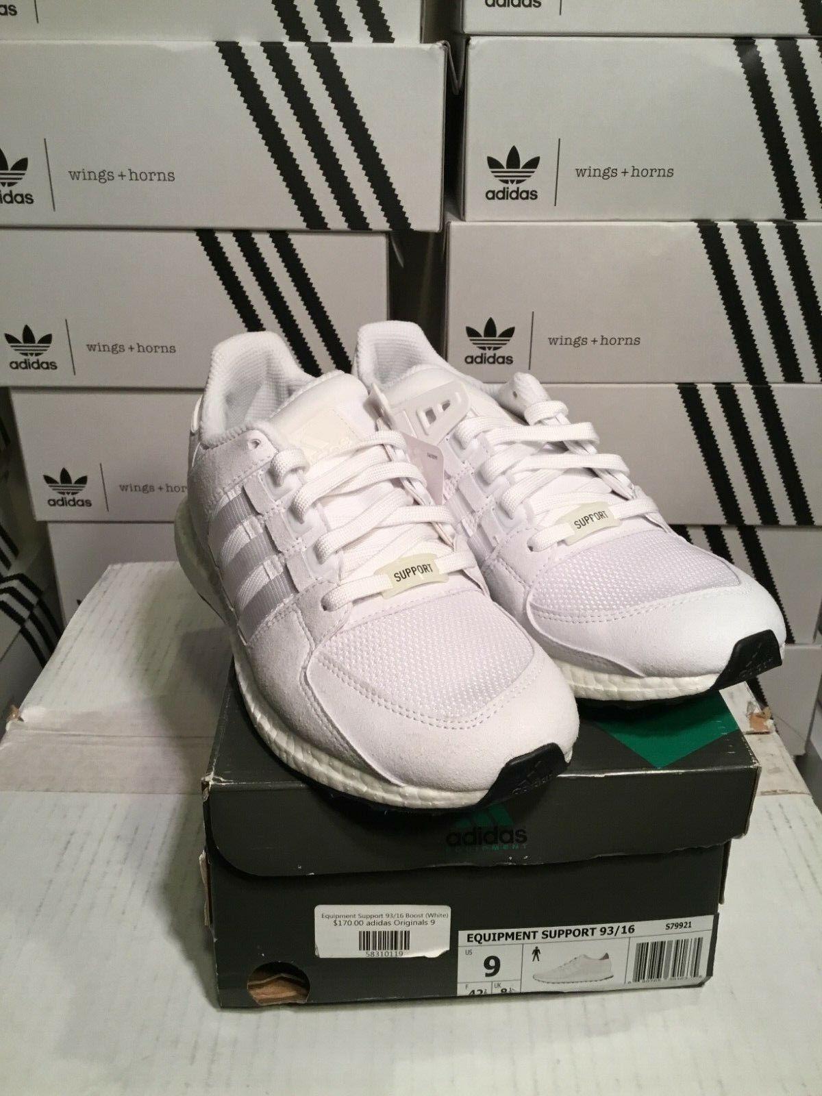 SALE adidas EQT Equipment Support 93 16 White S79921 Size 9 & 10 Brand New