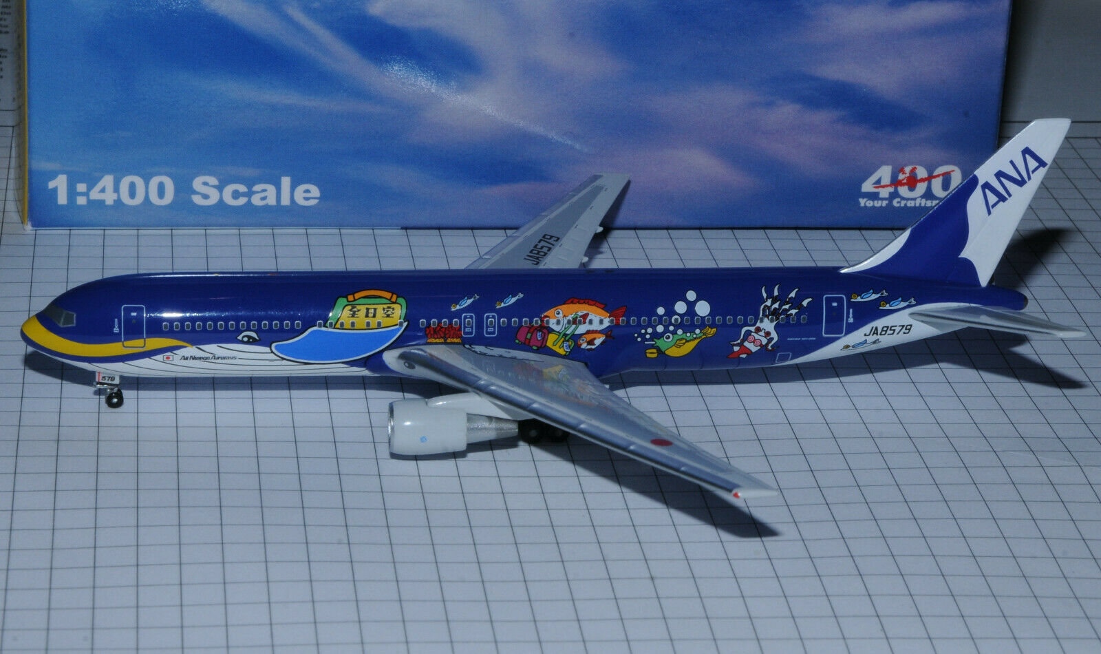 Craftsman 400 ANA All Nippon boeing b767-300  The Whale