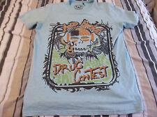 DE PUTA MADRE 69 T-Shirt  ACID NIGHT DRUG CONTEST T SHIRT ADULT LARGE