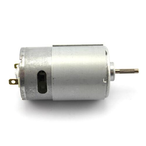 Feichao Lange Welle 550 Motor 12 V Micro DC Roboter Motor DIY Zubehör neu