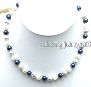 6-7mm-White-Black-Gray-Natural-Freshwater-Pearl-Necklace-for-Women-17-034-Chokers