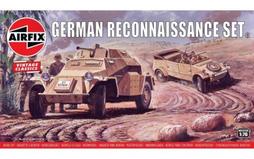 1//76 New Airfix GERMAN RECONNAISSANCE SET AIR02312V