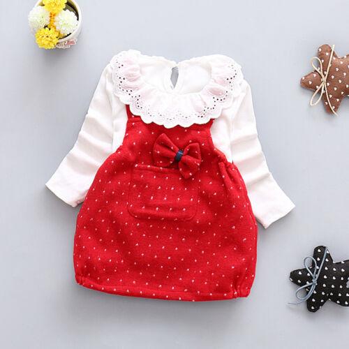 Braces skirt Kids Clothes Set 2Pcs Toddler Infant Girls Outfits Tshirt tops