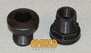 3-4-034-Bulkhead-Fitting-Slip-X-Thread-w-Silicon-Washer-High-Quality-by-CPR