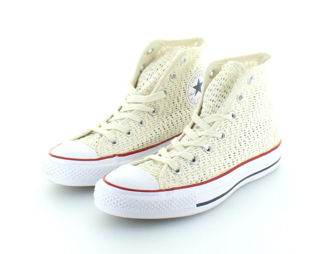 Converse All Star Star Star Chuck Taylor Hi Cotton Parchment talla 37,5 38,5  entrega gratis