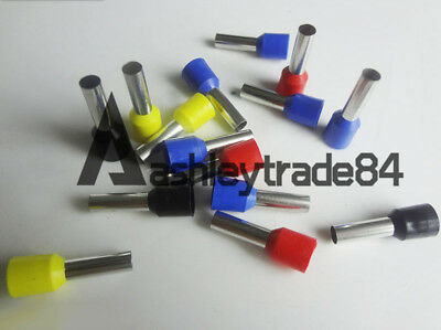 1000pcs E1508 Red 16 AWG 1.5mm/² Insulated Terminals Wire Ferrules