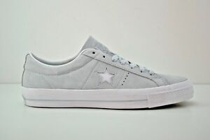 Mens-Converse-One-Star-Suede-Ox-Shoes-Size-9-13-Poplar-Blue-White-153963C