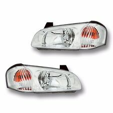 Fits 00-01 Nissan Maxima Driver + Passenger Side Headlight Lamp Assembly 1 Pair