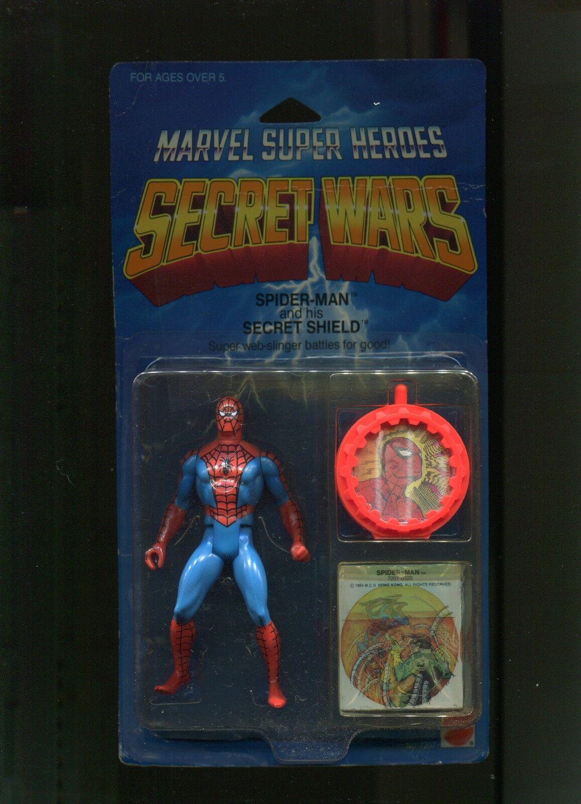 1984 Secret Wars Spider-Man  MOC   (SW7)