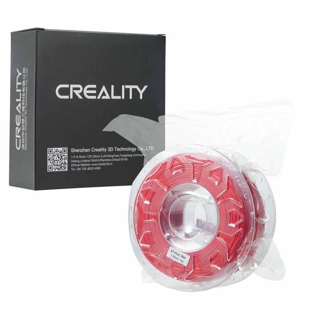 Creality 3D Printer 1kg/2KG 1.75mm PLA ABS 3D Printer Filament Lot Red 5 Plus