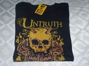 Untruth-T-Shirt-SIZE-MEDIUM-Melbourne-Melodic-Death-Metal
