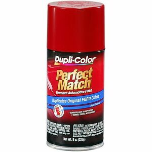 Duplicolor Bfm0188 For Ford Code 2k Eu T Candy Apple Red