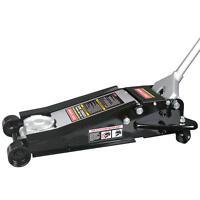 Craftsman 4 Ton Low Profile High Lift Service Floor Jack Steel Casters Car