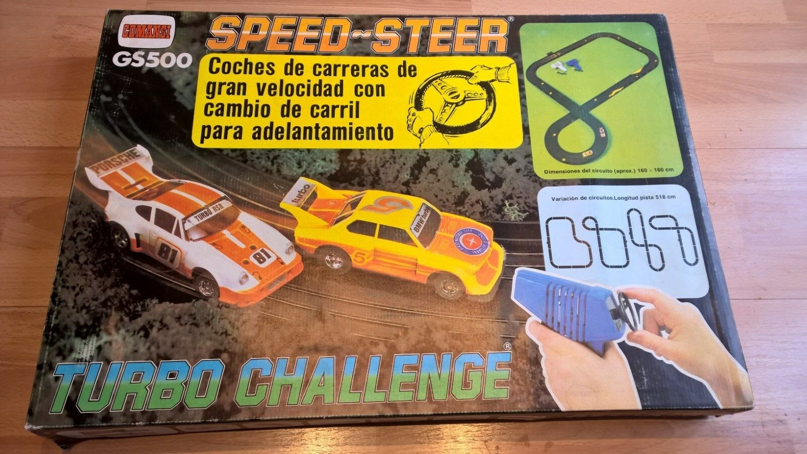 Comansi AFX GS500 Speedsteer Turbo Challenge Set BNIB Sealed VERY RARE