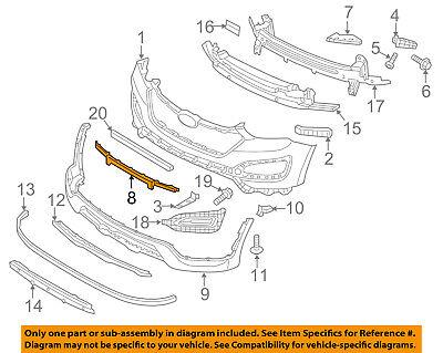 865624Z000 HY1206100 Front New Bumper Face Bar Trim for Hyundai Santa Fe 13-16