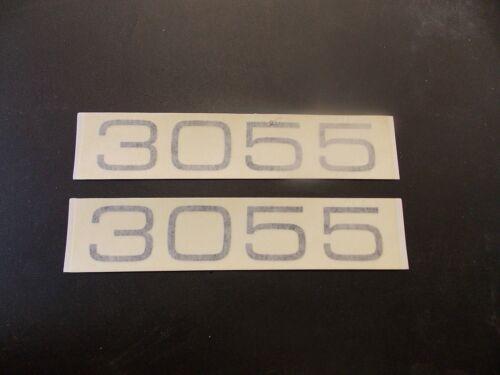 """BAYLINER 3055 PAIR 2 DECALS 1705592 MARINE BOAT 6/"""" X 1 1//8/"""" BLACK"""