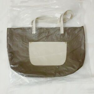 4 Sizes To Choose From Leather Tote Bag