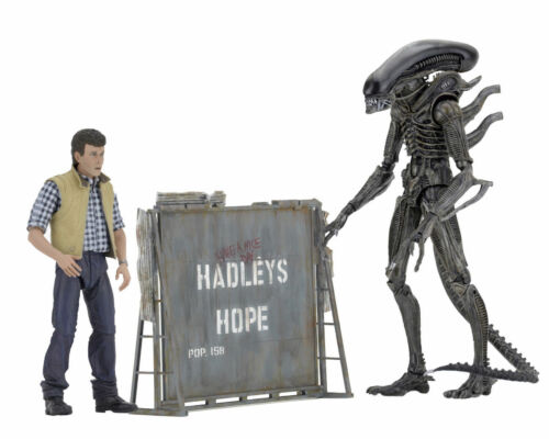 Burke Aliens Hadleys Hope Action Figure NECA Alien Warrior Xenomorph /& Carter J