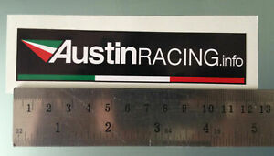 TP-pegatinas-decal-sticker-Austin-racing-120mm-x-27mm-1063