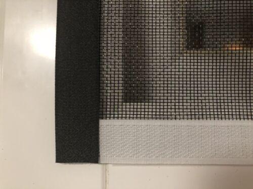 Hook /& Loop cinta para fibra de vidrio Malla De Insectos Mosquitera la mosca Malla Verde