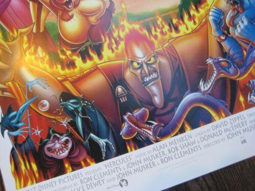 "T1 Movie  Collector/'s  Poster Print - B2G1F Disney  Hercules 11/"" x 17/"""